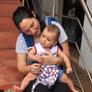 Babysitter in Palolem, Goa, India 2845266
